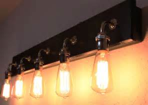 Vanity Lights With Edison Bulbs Bathroom Vanity L Bathroom Lighting By Partyandhomedesign