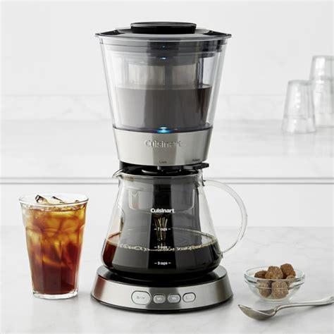 Wine Coffee Cold Drip cuisinart automatic cold brew coffeemaker williams sonoma