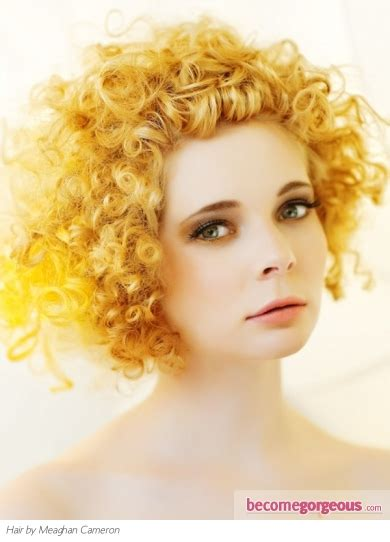 edge of wallpaper curls pictures punk girl hairstyles punk yellow curly hair style
