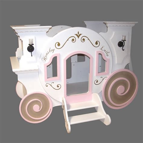 cinderella coach bed cinderella carriage bunk bed car interior design