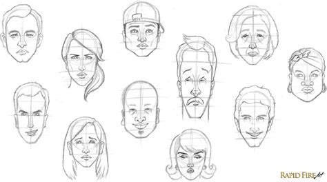 faces how to draw heads features expressions academy learn how to draw a in 8 easy steps beginners