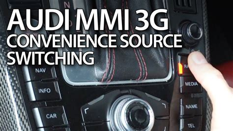 Audi Mmi Code by How To Activate Convenience Source Switching In Audi Mmi