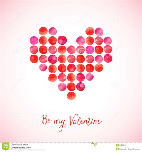 who created valentines day vector made of watercolor circles s day