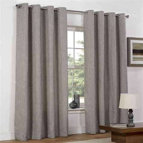 lined bedroom curtains wilko curtains weave charc 168x183cm d 233 coration