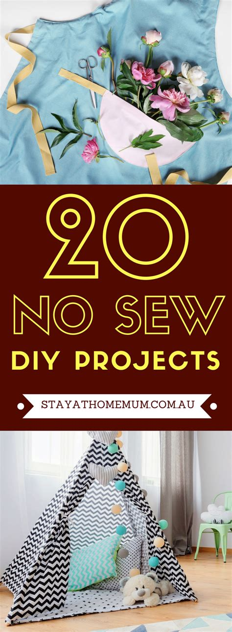 nice no sew home decor diy projects the cottage market 20 no sew diy projects stay at home mum