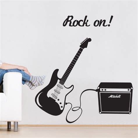 guitar wall stickers the world s catalog of ideas