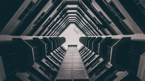 wallpaper 4k architecture architecture bottom view download hd wallpapers