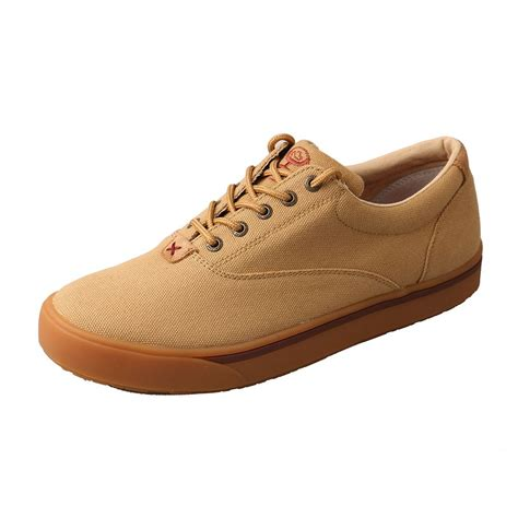 shop s twisted x hooey khaki canvas casual shoes