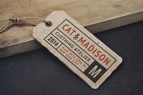 Hoodie Chion Ful Tag Label vintage label tag mockup graphicburger