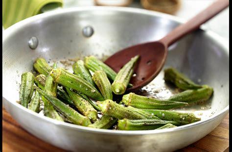 skillet sauteed okra edible nashville