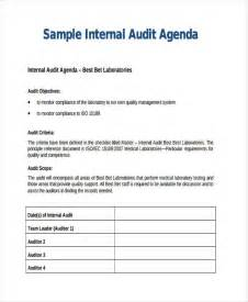 business process audit template audit agenda templates 9 free word pdf format downlaod