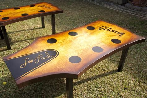 custom made coffee tables crafted guitar headstock coffee table by heartsong