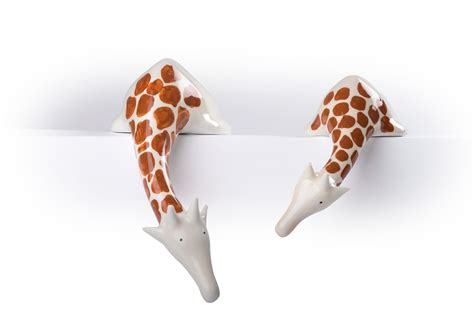 home decor object shelf decoration giraffe ornaments