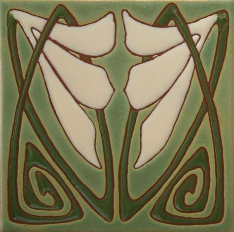 art deco tile custom art deco tiles green and ivory by loftin