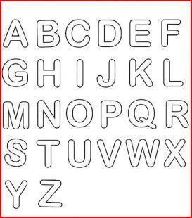 lettere alfabeto grandi alfabeto per bambini da stare e colorare