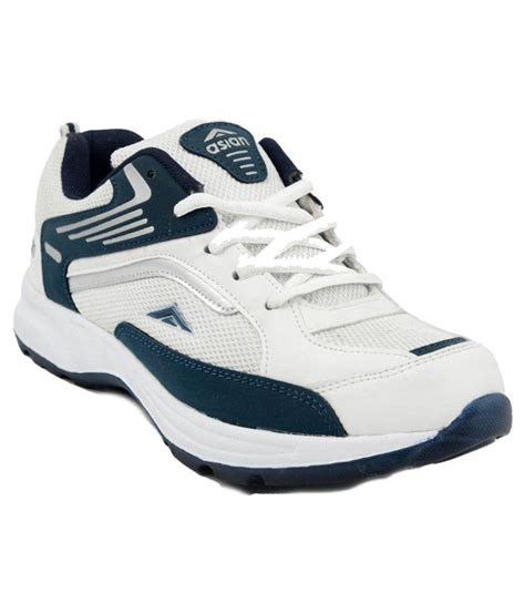 white running shoes buy asian shoes white running shoes on snapdeal