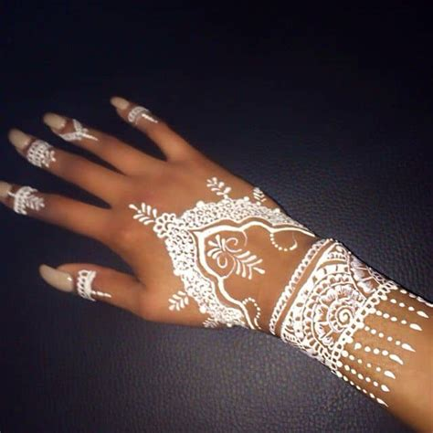 white henna tattoo 20 stylish and lovely henna designs for sheideas