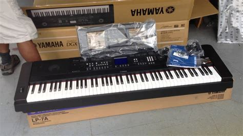 Yamaha Portable Grand Dgx 650b kris nicholson unboxing his new yamaha dgx 650b portable