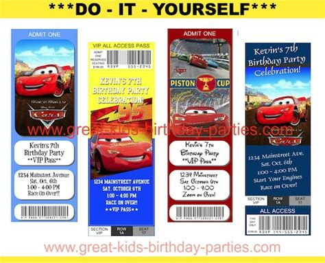 disney cars birthday invitation maker disney cars birthday