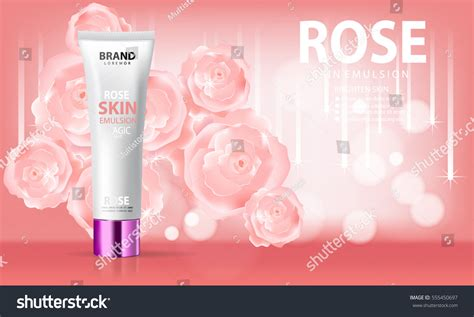 Toner Been Pink pink skin toner contained pink stock vector 555450697