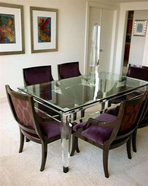 acrylic dining table dining table acrylic sheet dining table
