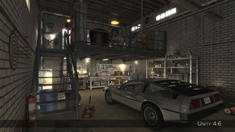 3d garage 3d asset auto repair shop high detail garage cgtrader