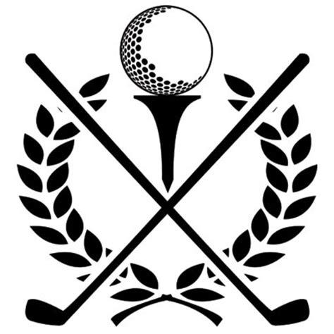 Golf Club W Ball Etch Clipart Panda Free Clipart Images Golf Tournament Logo Template