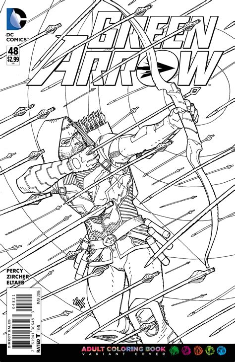 dc a coloring book test your coloring with dc comics coloring book
