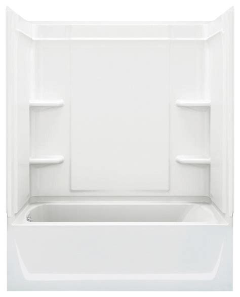 Sterling Tub Shower Units by Sterling Ensemble 78 25 Quot X60 Quot X33 25 Quot Vikrell Tub Shower