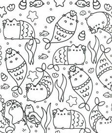 pusheen coloring pages the 25 best ideas about pusheen the cat book on