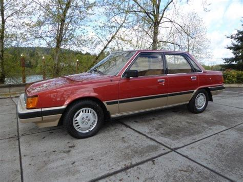 1983 toyota camry 1983 toyota camry le sedan 4 door 2 0l only 45k for