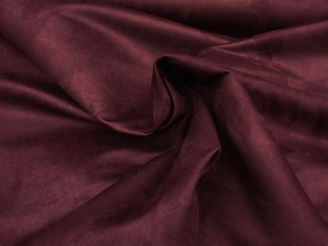 Drappery Micro suede wine polyester microfiber solid faux upholstery drapery