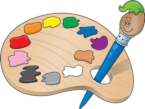 3 Is The New Black Kirb Your Enthusiasm Hobby Articles Paint Palette Coloring Page