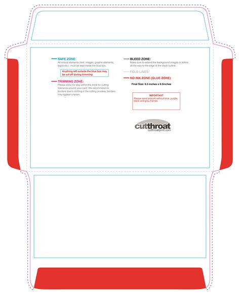 booklet envelope template cutthroat printcustom printed envelopes with free shipping