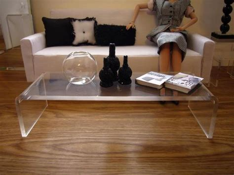 acrylic coffee table ikea cutting edge acrylic coffee tables designs