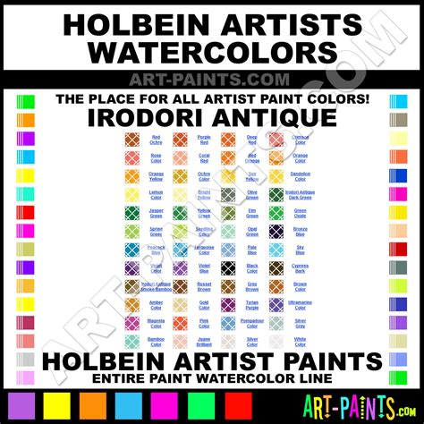 holbein irodori antique watercolor paint colors holbein irodori antique paint colors irodori