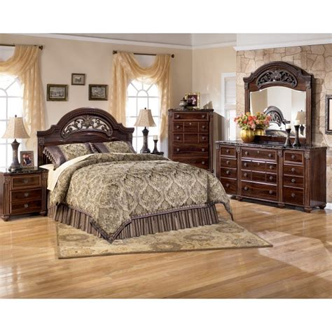 ashley signature bedroom set ashley furniture signature designgabriela 5 piece bedroom