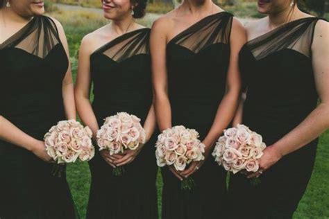 chic blush  black wedding ideas weddingomania