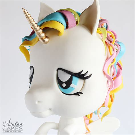 unicorn tutorial chibi floating unicorn cake tutorial avalon cakes