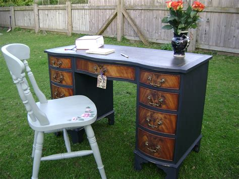 antique painted desk the barrister s