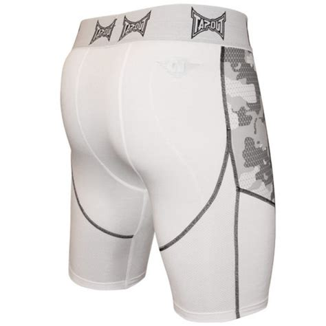 Tap Out Fightshorts Grey tapout camo elite compression shorts white