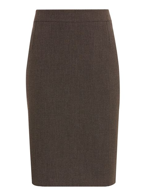 chocolate pencil skirt dress ala