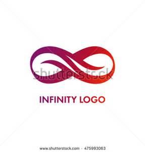 Infinity Logo Design Infinity Symbol Stock Vector 304509422