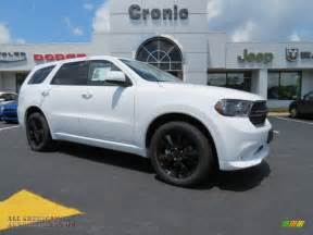 Dodge Durango Sxt Blacktop 2013 Dodge Durango Sxt Blacktop Awd In Bright White