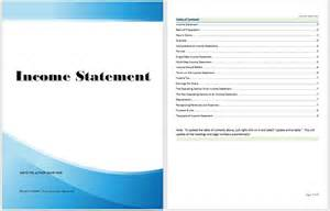 statement template income statement template microsoft word templates