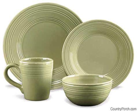 Green Valances Kitchen - leaf casual classics dinnerware
