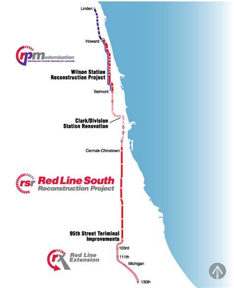 chicago redline map line extension streetsblog chicago