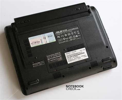 Asus Laptop Battery Check review asus n10e notebookcheck net reviews