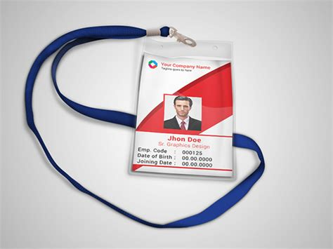 employee id card photoshop template 17 id card templates free psd documents free