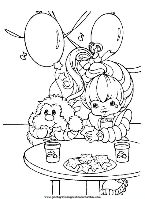rainbow brite coloring pages free printable rainbow brite coloring pages bestofcoloring com